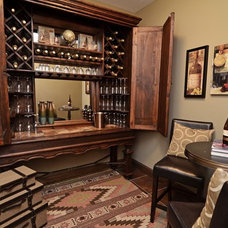 Traditional Wine Cellar by Gonyea Homes & Remodeling