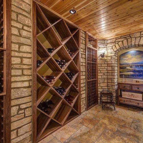 Weinkeller einrichten  Weinkeller klassisch St. Louis einrichten - Bilder & Ideen