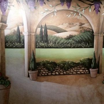 Lusso Della Terra (LDT) Mural