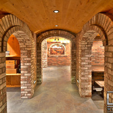 Mediterranean Wine Cellar by Luxe Wine Cellars