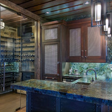 Contemporary Wine Cellar by Martin Manley Architects