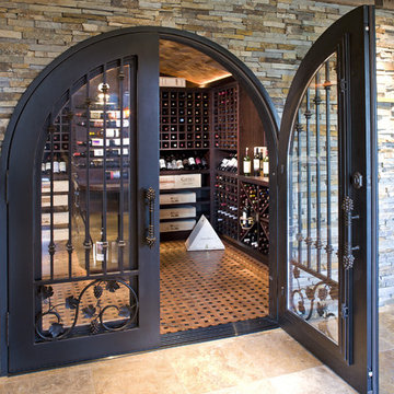 Luxurious Wine Room