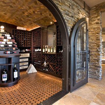 Luxurious Wine Room