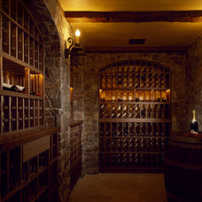 Rustic Wine Cellar by SDG Architecture, Inc.