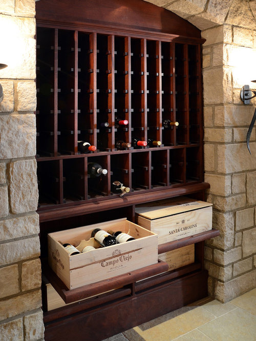 wine crate furniture. inspiration for a timeless wine cellar remodel in atlanta with storage racks crate furniture