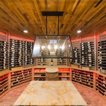 Main floor Wine room in Westfiled NJ