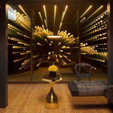 Modern Wine Cellar by Kendall Wilkinson Design