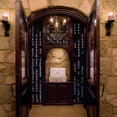 traditional wine cellar by Cravotta Studios -Interior Design