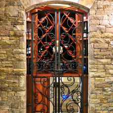 Traditional Wine Cellar by White Oak Renovations