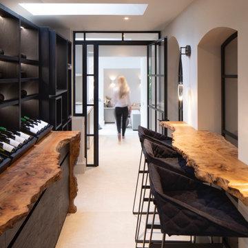 Manor House Bespoke Wine Room
