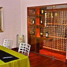 Contemporary Wine Cellar by Sennikoff Architects