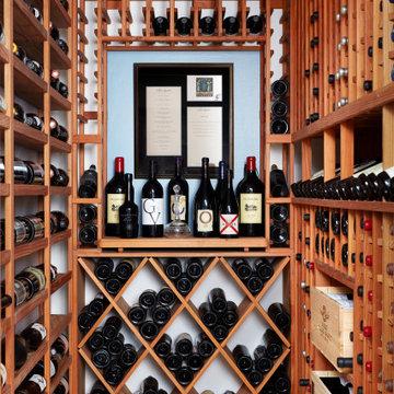 #mcleanrenovation - Wine Cellar