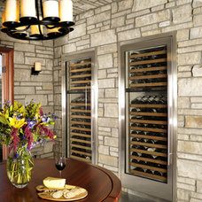 Mediterranean Wine Cellar by Hamilton-Gray Design, Inc.