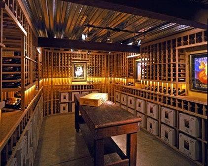 Mediterranean Wine Cellar by JMA (Jim Murphy and Associates)