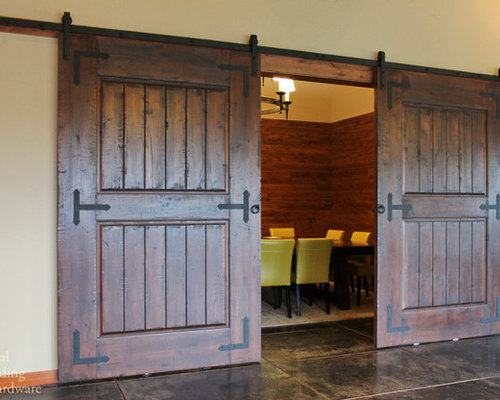 Home Decor Sliding Doors: Sliding Barn Door Hardware Home Design Ideas, Pictures