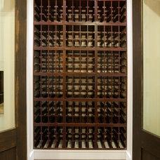 Modern Wine Cellar by KCS, Inc.
