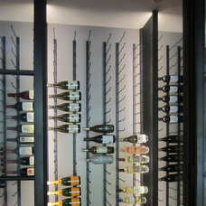 Contemporary Wine Cellar by Wine Cellar Specialists