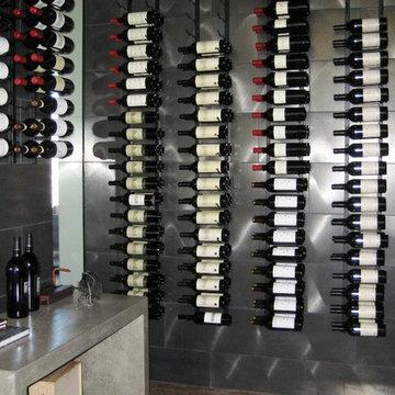 Metalwork: Stacked Wine Racks