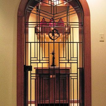 Metalwork: Wine Room Gate