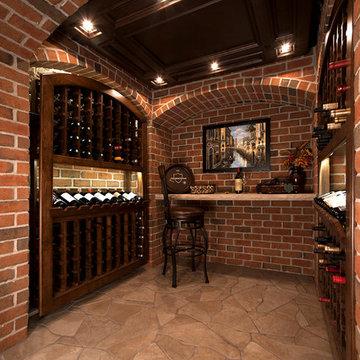 Misc. Interior Brick Design
