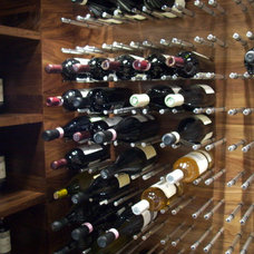 Contemporary Wine Cellar by Torri Custom Carpentry