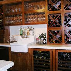 Traditional Wine Cellar by Marina V. Phillips