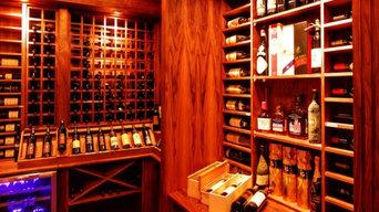 Mission Wine room