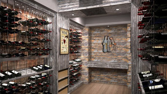 Modern & Contemporary Wine Cellars