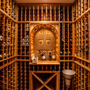 Modern and Youthful Wine Cellar in Clifton VA