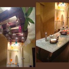 Modern Wine Cellar by Rania Ramzi