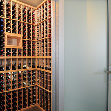 Modern Wine Cellar by Kerrie L. Kelly