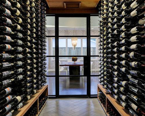 Weinkeller einrichten modern  Weinkeller modern Houston einrichten - Bilder & Ideen