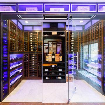 Modern Design Wine Room
