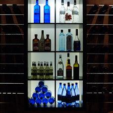 Modern Wine Cellar Modern house remodel