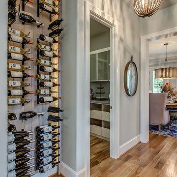 Modern Kitchen Wine Display