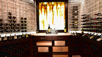 Modern meets Traditional = Transitional Cellar
