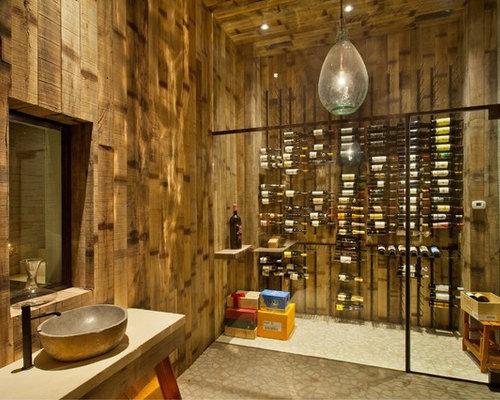 Industrial Usa Wine Cellar Design Ideas Renovations Amp Photos