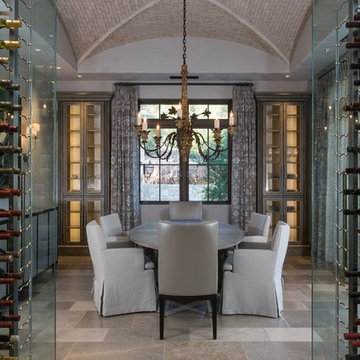 Modern Paradise Valley Cellar