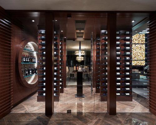 best contemporary wine cellar design ideas remodel pictures houzz - Wine Cellar Design Ideas