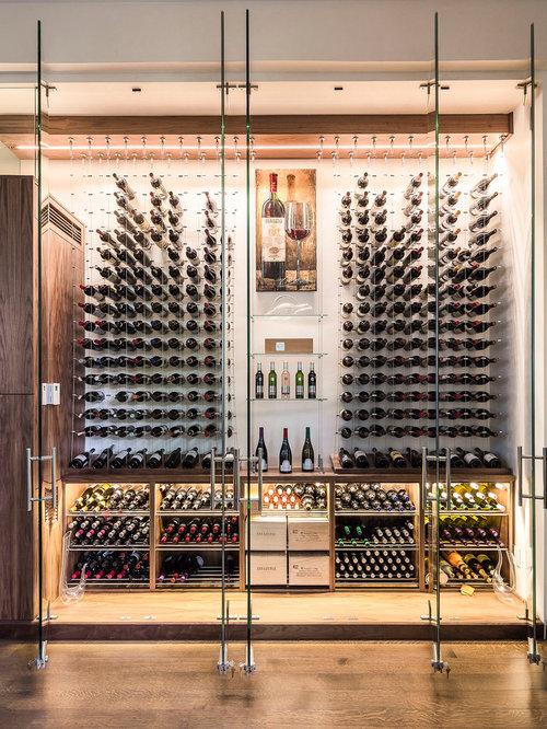 Weinkeller einrichten modern  Weinkeller modern Toronto einrichten - Bilder & Ideen