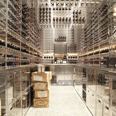 Modern Wine Cellar by Butler Armsden Architects