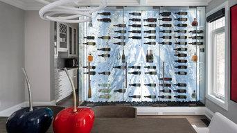 Modern Wine Cellar by Imagination Wine Cellars