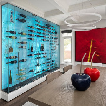 Modern Wine Cellar by Imagination Wine Cellars