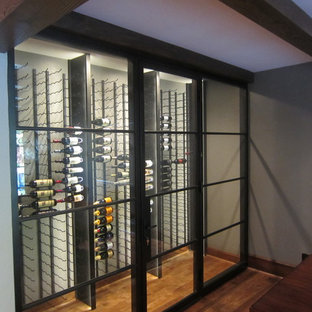 Modern Wine Cellar Design in Dallas Texas