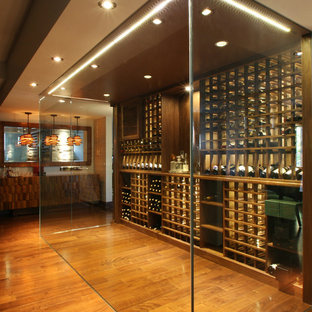 Modern Wine Cellars by Papro Consulting