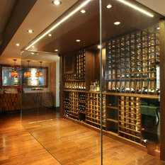 Modern Wine Cellar Dunedin Custom Wine Cellar by Papro Consulting - 1-866-651-9229