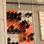Modern Wine Storage Design - STACT Modular Wine Wall ...