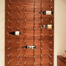 Modern Wine Cellar by J Mitchell Design