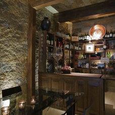 Contemporary Wine Cellar by Eduarda Correa Arquitetura & Interiores