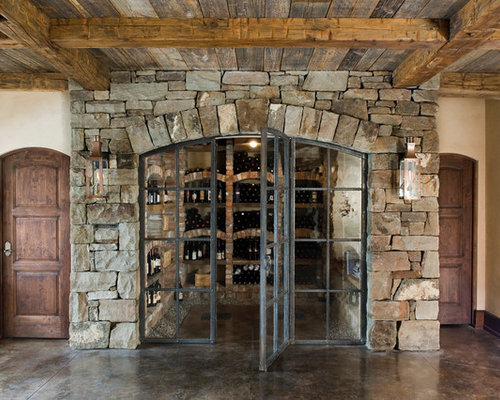 Wrought Iron Wine Cellar Door Home Design Ideas Pictures
